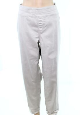 Style & Co. Women's Pants Beige Size 14W Plus Pull-On Ankle Stretch $56 #202