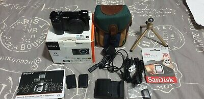 sony emount a6000 24.3mps mirrorless aps-c black body only