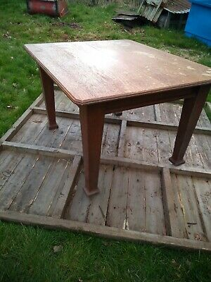 Antique Victorian Solid oak  Dinning Table