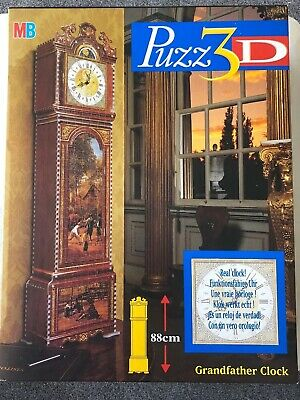 PUZZ 3d grandfather clock 3D Puzzle working clock with box 777 Pieces