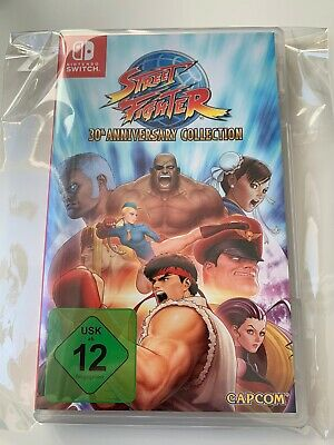 Nintendo Switch Street Fighter 30th Anniversary Collection w. Neu Switch Lite