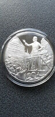 Winston Churchill Elected MP for Oldham  Sterling Silver Proof Hallmarked Medal