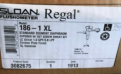 New Sloan Regal FlushOmeter Model 186-1 XL