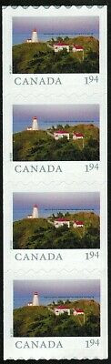Canada sc#? From Far & Wide 2020 : Swallow Lighthouse NB, Strip fr Coil, Mint-NH
