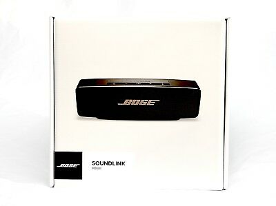 BOSE SoundLink Mini II Bluetooth Wireless Speaker for iPhone/iPad (black/copper)