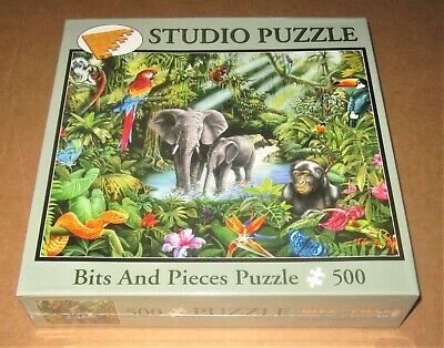 Guided Through the Jungle Jigsaw Puzzle - 500 Pieces - Mark Gregory - Brand New