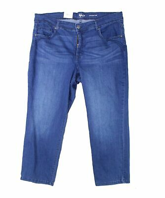 Style & Co. Womens Jeans Blue Size 16WP Plus Petite Straight Leg Stretch $59 122