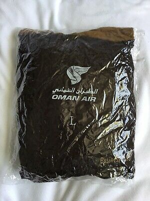 Oman Air Airline Pyjamas Size L Brand New