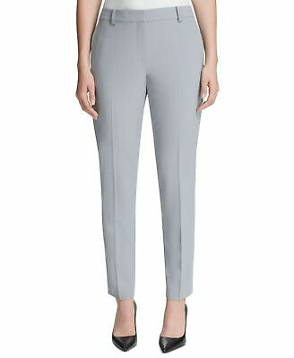 DKNY Womens Pants Celeste Blue Size 16 Skinny Leg Fixed-Waist Ankle $89 342