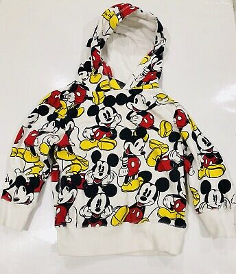 EUC COTTON ON X MICKEY Kids Jumper - Exclusive Print - Size 3 - RRP $29.95