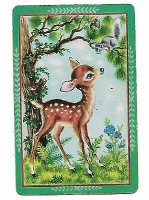 Woodland Babies X 1 Only Single Vintage  Playing/Swapcard..