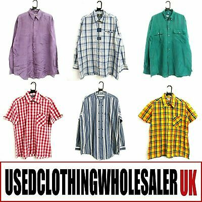 50 VINTAGE SHIRTS £1 EACH! MIXED 70's 80's 90's MEN'S WHOLESALE CLOTHING JOB LOT