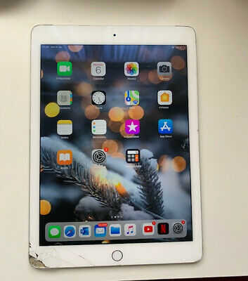 Ipad Air 2 Silver / 16 GB / WIFI + Cellular / Working But READ