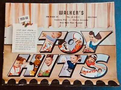 Vintage 1959-60 Walker's Dept. Store, Holyoke, Mass. 48 Page Toy Catalogue