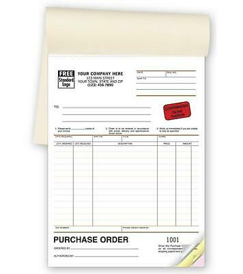 """Purchase Order Book / Classic Design / 6.375"""" x 8.5"""" /  NEBS Deluxe 87"""