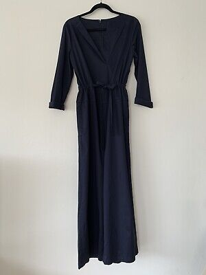 **COS Belted Jumpsuit with V-Neck | RRP $170 | Size 12**