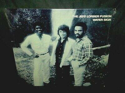 THE JEFF LORBER FUSION - Water Sign - 1979 LP in Shrink Freddie Hubbard