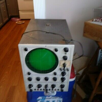 Vintage Oscilloscope Model 300 C Precise Development Corp Oceanside NY USA Parts