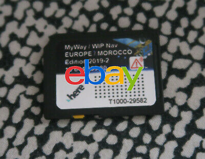 2019-2 Edition Europe Carte SD pour GPS Peugeot Citroën RNEG + Zone de Danger