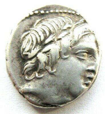 Silver-Denar of Roman Republic ANONYM  Rv. Jupiter in quadriga right
