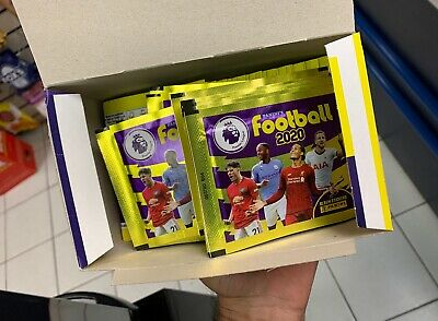 Panini Football 2020 Stickers 10 Packets Only FA Premier League Official Items