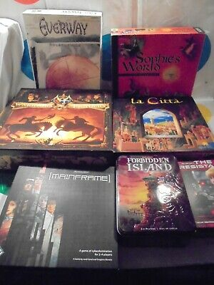 Bundle Of Various Modern Role Playing And Similar Board Games. RPG Job Lot