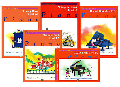 Alfred's Basic Piano Library Course Pack - Level 1A & 1B