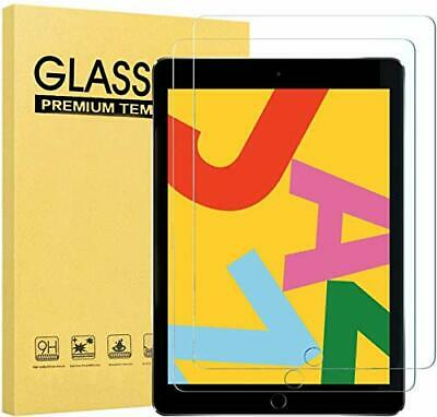 [2 Pack] Screen Protector for Apple New iPad 10.2 inch 2019 (7th Generation)...