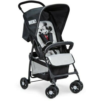 In-line Double Pushchair 6m+ Black Hauck Freerider Tandem Buggy