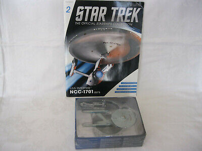 Star Trek - The Official Starships Collection: 2 U.s.s. Enterprise Ncc-1701