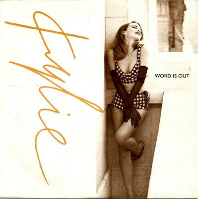 PWLT 204 - Kylie Minogue - Word Is Out - ID5628z - vinyl 12 - uk