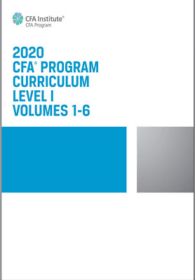 2020 CFA Program Curriculum Level I 🔥ebook🔥Fast delivery🔥