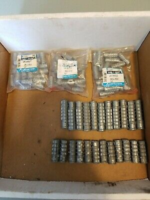 """Lag Sheilds Misc Sizes 1/4"""" 5/16"""" 3/8"""" Approx 100 pc lot"""