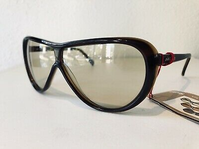 NOS Vintage Persol by Ratti PininfarinaPF802 Brown Sunglasses. Persolmatic Lens