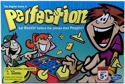 *DAMAGED PACKAGE* Hasbro Original Game of PERFECTION 25 piece version NEW 2014