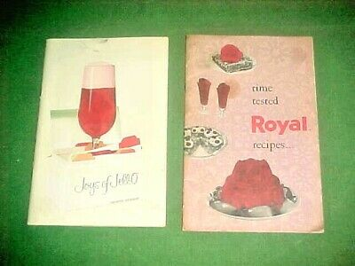 Vintage Jello Recipe Books - 2 Different