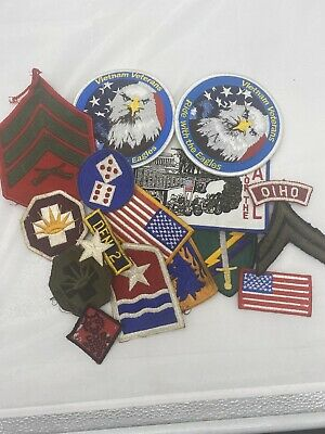 US Mixed Lot Of Patches (E613