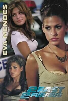 The Fast And The Furious 2 Eva Mendes - 68,5x101,5cm - AFFICHE / POSTER