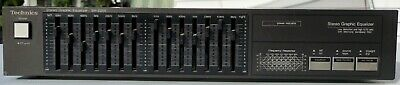 Vintage 1980's Technics Stereo Graphic Equalizer SH-Z200
