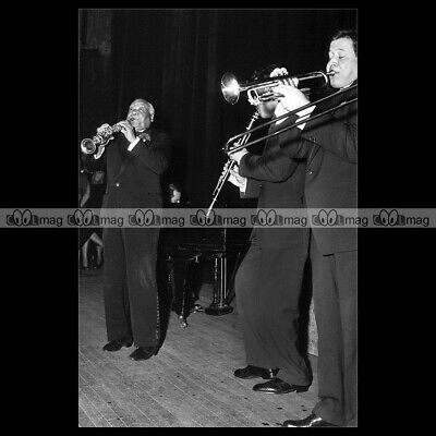 #phs.010737 Photo SIDNEY BECHET 1956 JAZZ MUSICIAN