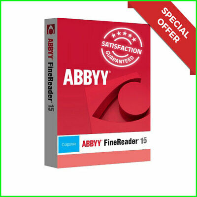 ⭐Offer⭐ABBYY FineReader 15-Latest-LifeTime-Multi-language✔️Fast Delivery✔️