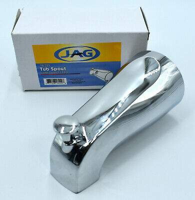 JAG Universal Tub Spout 1/2? threaded at nose With Diverter Chrome