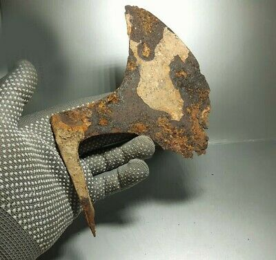 ANCIENT Authentic Artifac Iron AXE Viking age 8-10 c.AD  #45