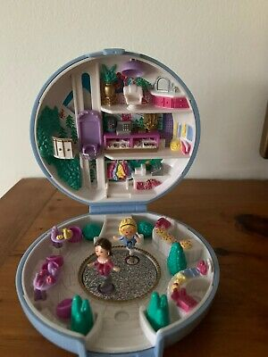 Vintage Polly Pocket Skating Party 1989 Very Rare. 100% Complete.