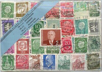 Germany Various 120 Differents, Sealed Pack, Used