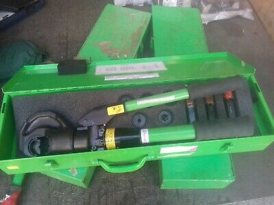 Miles ROYSTONE DUBUISS HYDRAULIC CRIMPING TOOL AND DIES