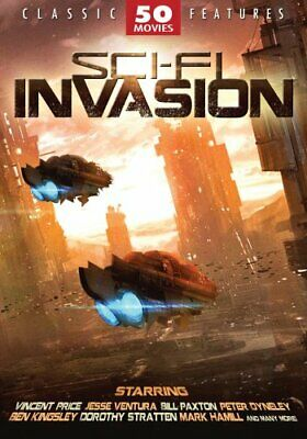 SCI-FI INVASION 50 MOVIE PACK New 12 DVD Set