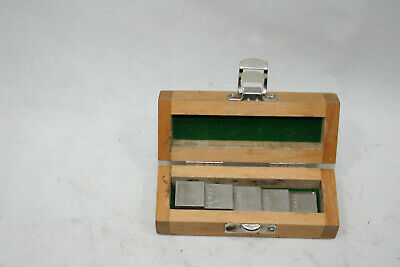 Olympus Panametrics GE NDT 2211E 304 SS Stainless Steel Calibration Block w/Case