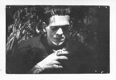 FORREST ACKERMAN COLLECTION Frankenstein photo used in FAMOUS MONSTERS magazine