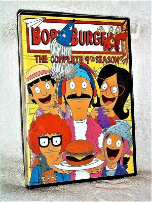 Bobs Burgers The Complete 9th Season (DVD, 2019, 3-Disc) NEW FOX animated comedy